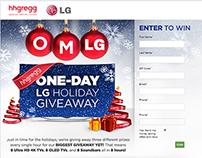 OMLG Sweepstakes | hhgregg & LG