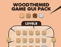 Game GUI Pack - Wood Theme