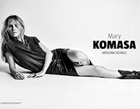 Mary Komasa for MaleMEN PL