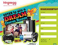 hhgregg Dream Dorm Room Sweepstakes