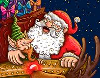 "Portada navideña para ""Algarabía niños"""