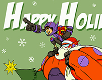 Happy Holidays from Hiro&Baymax