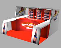 Ponymalta Beverage Branding Design ©2013