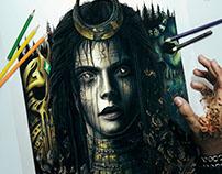 The Enchantress Painting (Suicide Squad)