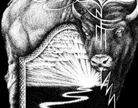 Inter Arma - Shirt Illustration