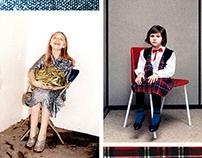 Magazine Spreads: Rineke Dijkstra & Juergen Teller