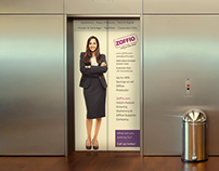 Zoffio Advertising Banners, Catalogue, Greetings Design