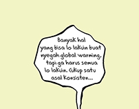 Global Warming Comic Strip