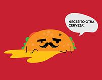Drunk Taco Wallpaper