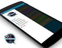 9XO TweetDown - Android App Concept