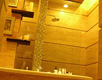 Master Bath Room di Grahafamily L51Surabaya