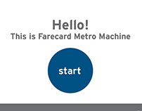 Farecard Machine Interface