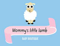 Mommy's Little Lamb: Logo for a baby boutique