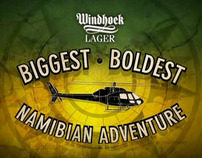 WINDHOEK LAGER's - Bigest,Boldest, Namibian Adventure