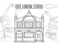 East London Studios.
