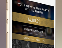 Martini New Year Game