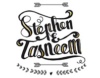 Wedding Invite of Tasneem and Stephen