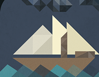 Geometric Sailboat