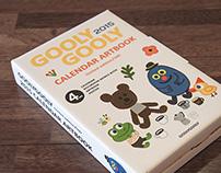 2015 GOOLYGOOLY  CALENDAR ART BOOK / limited edition/50