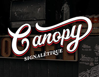 Canopy - Traditionnal manufacturerof signage