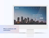Descon Construction website