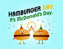 McDonald's Hamburger Day