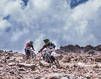 Mountain Bike at 3.500 m.s.n.m