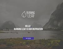 Burning Leaf - Webdesign