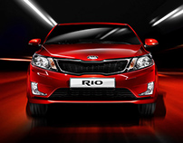 Automotive project for Kia RIO 2014