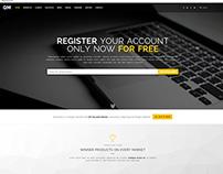QuoModo Multipurpose Landing Page