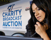 Jays Care Foundation, Broadcast Auction