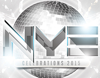 NYE White Party Flyer