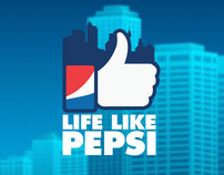 LIFE LIKE PEPSI - Facebook Game