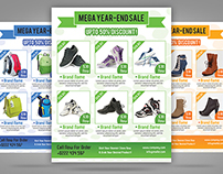 Product Sale Promotion Flyer