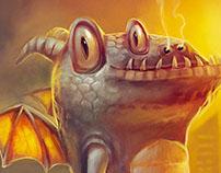 Dragon - Character design