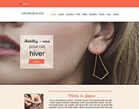 Hiroko Miura - Webdesign