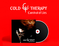 "CD Cover - Cold Therapy ""Carnival of Lies"" EP"