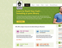 Stash Your Cash Web Design