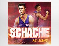 Digital - Social Media Graphic: Brisbane Lions