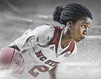 NC State Basketball Billboard