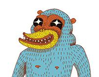 ilustración gran jerky d
