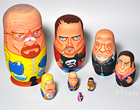 Breaking Bad Nesting Dolls