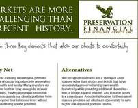Preservation Financial Newspaper Ad