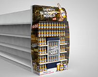 CAMPAÑA SHOPPER MARKETING CERVEZA MODELO