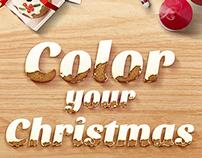 Christmas Project - KitchenAid / Color your Christmas