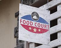 FOOD COURT RESTAURANT LOGO