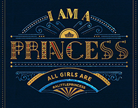 A Little Princess Typography