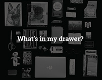 What's in my drawer? | Personal Infographic