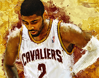 • Painting • Kyrie Irving •