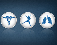 Medical icons for Intuitive Health
